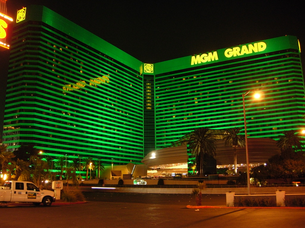 MGM Grand Hotel, Las Vegas, NV - a photo on Flickriver