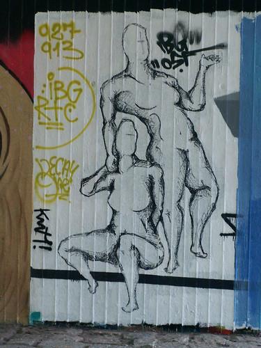 Graffiti bringt den ersten Anstoß zur Entwickelung in Dresden 348