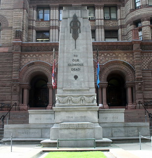 Image of Old City Hall Cenotaph. toronto ontario cenotaph oldcityhall