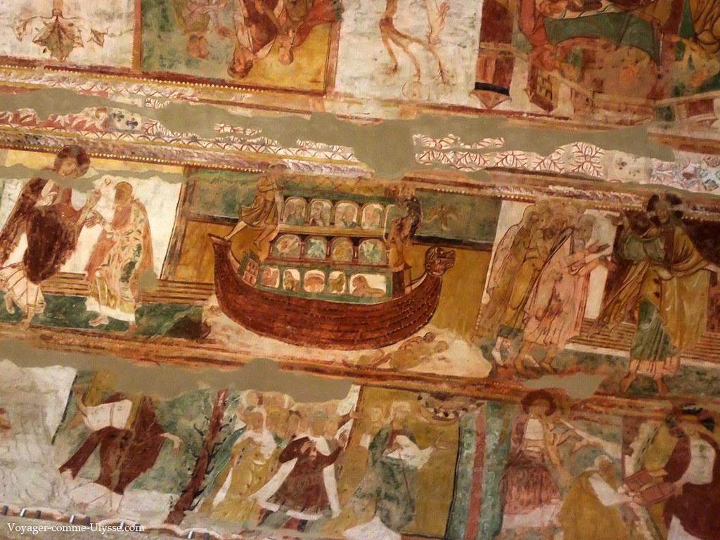 Abbaye de saint savin patrimoine mondial de l humanit for Tableau de l arche de noe