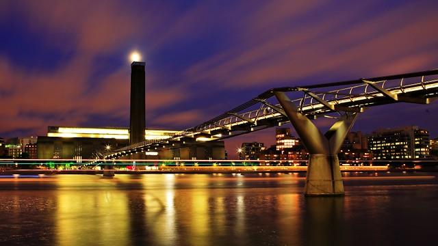 [组图] 伦敦千禧桥 泰晤士河上的银带(16P) - 路人@行者 - 路人@行者