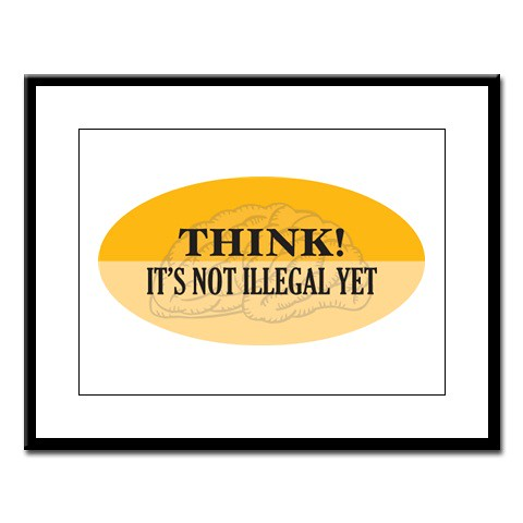 Think It's Not Illegal Yet
