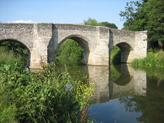 moat(0.0), devil's bridge(1.0), arch(1.0), aqueduct(1.0), reservoir(1.0), river(1.0), arch bridge(1.0), canal(1.0), viaduct(1.0), waterway(1.0), bridge(1.0),