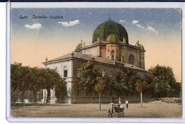 Gyor Hungary  city images : Gyor Hungary Synagogue Jewish scan0654 | Flickr Photo Sharing!