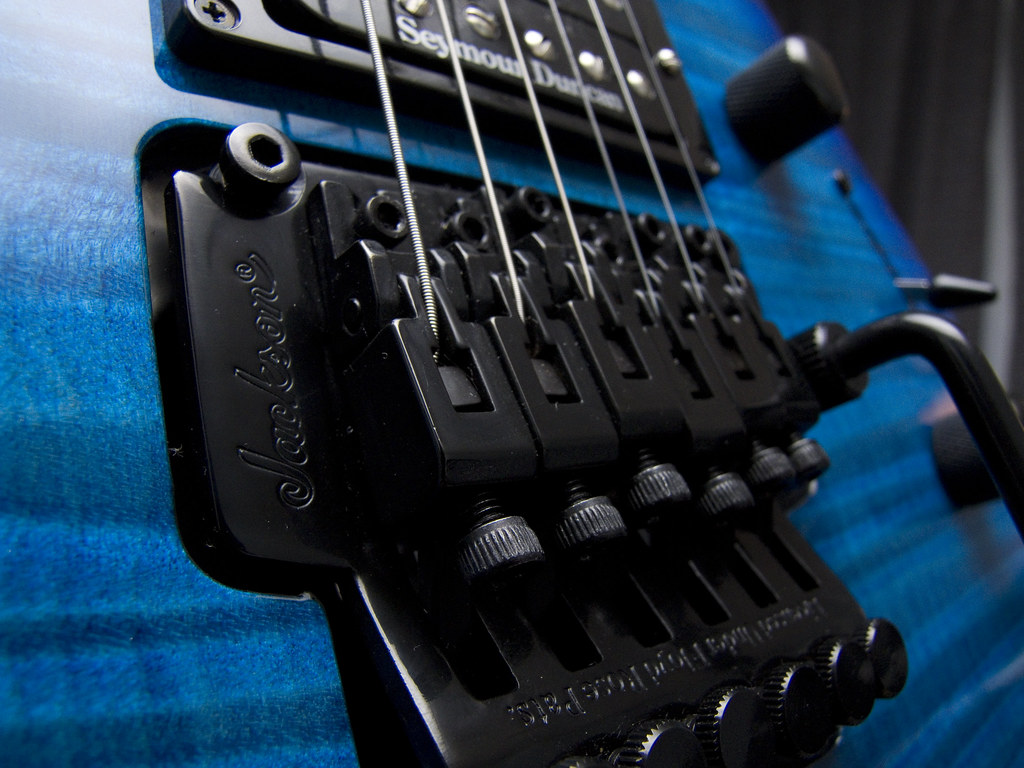 how are the jackson licensed floyd rose tremolos harmony central. Black Bedroom Furniture Sets. Home Design Ideas