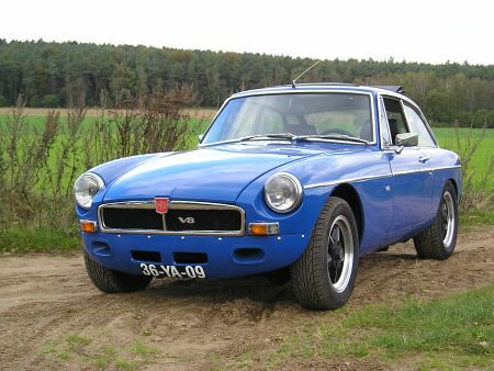 Mgb Gt Sebring Styling A Gallery On Flickr