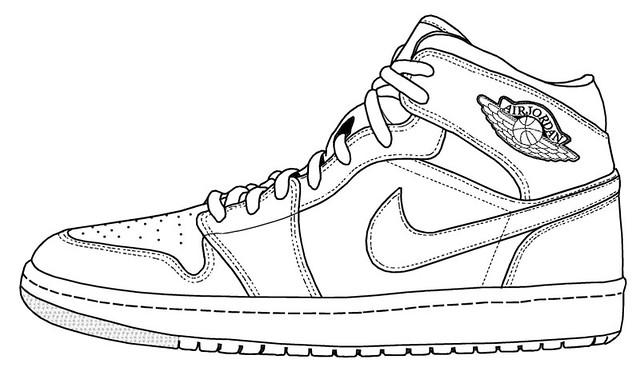 buy popular 5d7d1 b84fe Air Jordan Sketches Air Jordan 1 Sketch