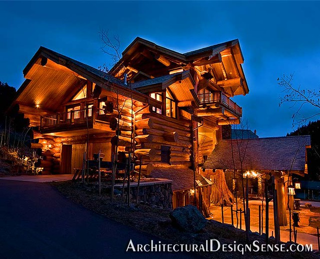 pioneer log home flickr photo sharing. Black Bedroom Furniture Sets. Home Design Ideas