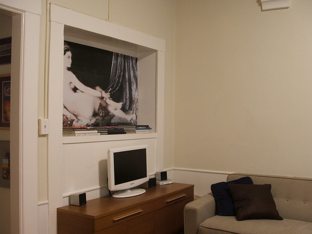 Living Room Alcove After Flickr Photo Sharing