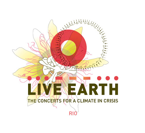 Live Earth Rio De Janero Logo