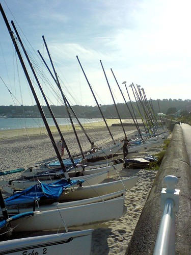 Boats, St. Aubin's Bay by banJOYeehaw