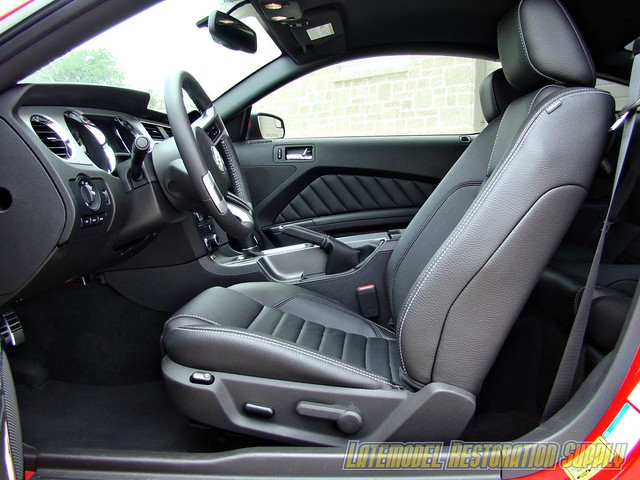 Red 2011 Ford Mustang Gt 5 0l With Black Leather Interior Flickr Photo Sharing