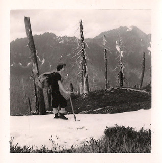 Hiking in 1940s