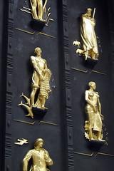 NYC - Rockfeller Center: British Empire Building - Industries of the British Empire
