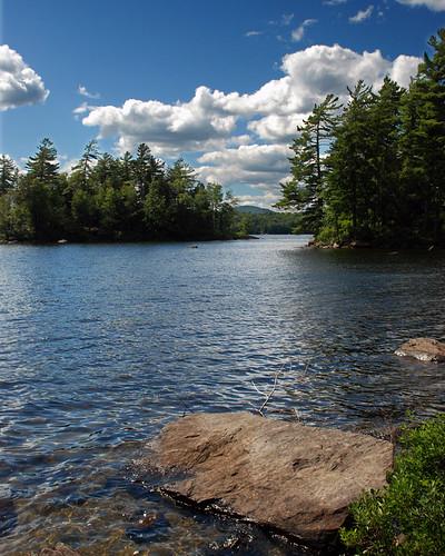 lake newyork nature water forest outdoors island woods lakes adirondacks speculator lakepleasant