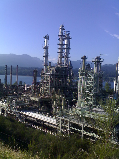 Burnaby Chevron Refinery