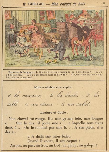 vocab 8 cheval bois