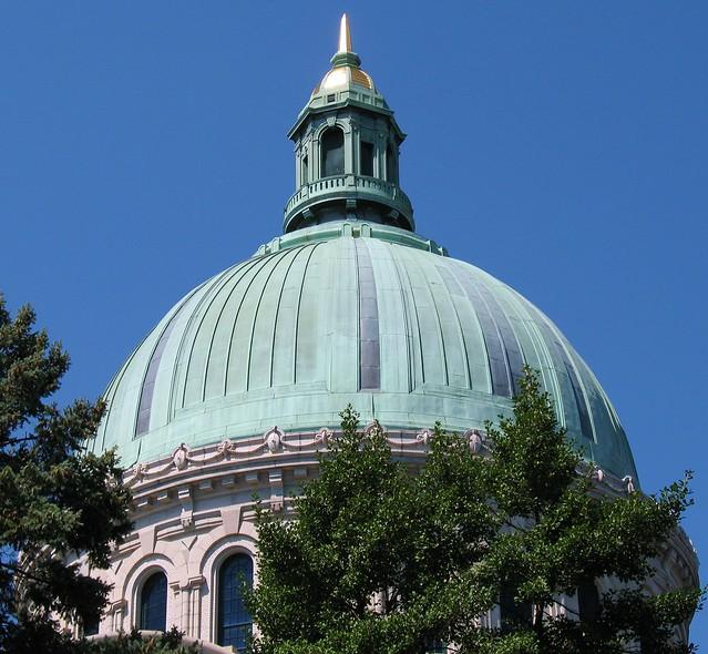 Annapolis Wedding Chapel: Naval Academy Chapel Dome