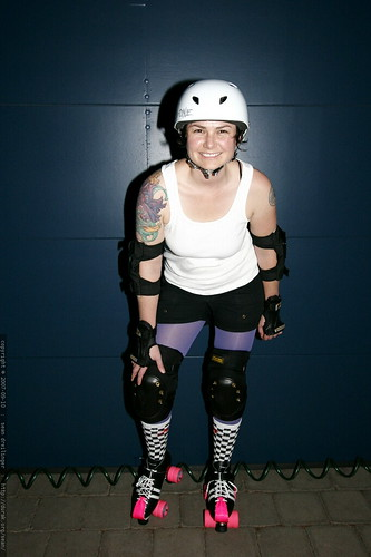 Does She Look Ready? Roller Derby Tryouts in 21 hours    MG 4149