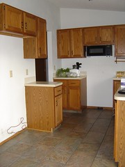 Kitchen in first house