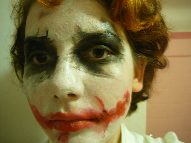 Joker Face Makeup | Flickr - Photo Sharing!