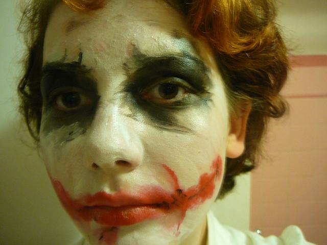 Joker Face Makeup | Flickr - Photo Sharing!