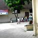 Anak-anak bermain di halaman sekolah : Childrens play on the School yard. Photo credit by Ardian