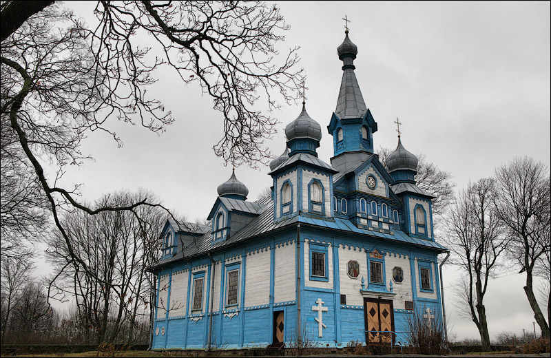 Телядовичи, церковь Троицкая