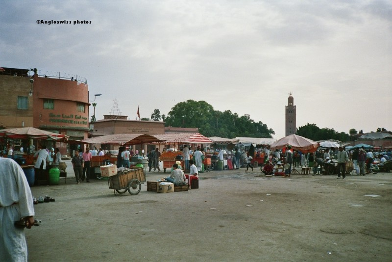 Jamaa El-Fna market