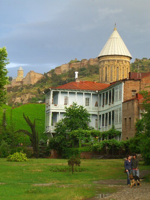 Sioni Cathedral and Narikala - Tbilisi, Georgia