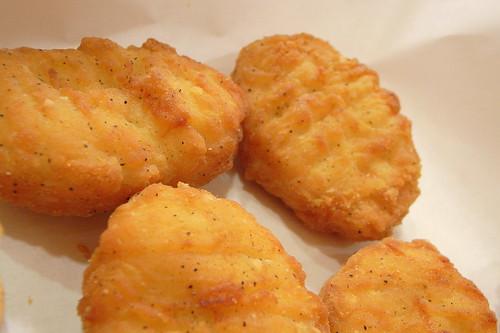 chicken nuggets of KFC