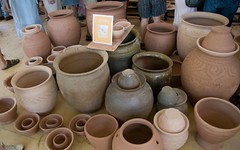 wheel(0.0), potter's wheel(0.0), art(1.0), clay(1.0), pottery(1.0), ceramic(1.0), craft(1.0),