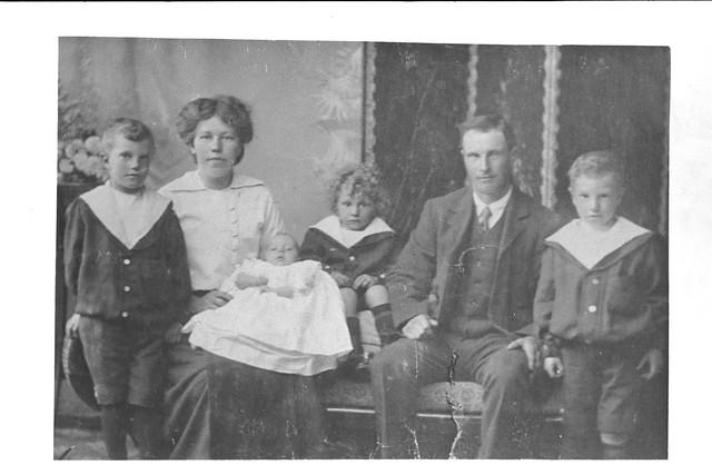 The Martin Family (c. 1916)