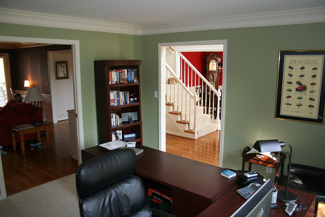 Home office v 2 0 flickr photo sharing - Home office painting ideas ...