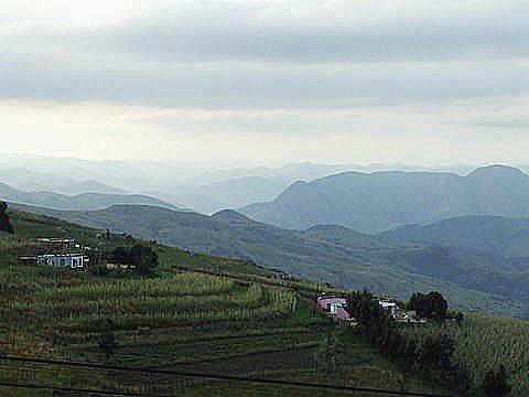 View west near Piggs Peak in Swaziland