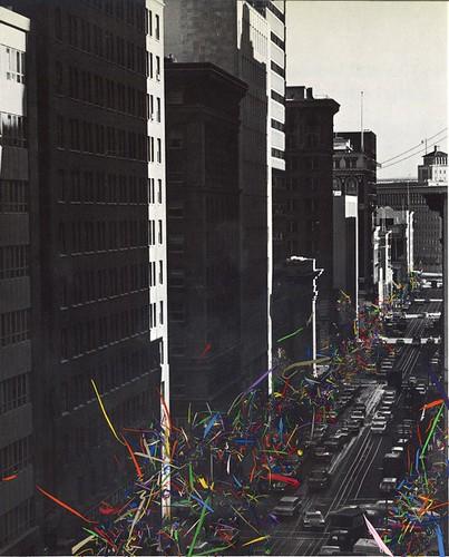 "Erik Parra ""Untitled(ticker tape)"""
