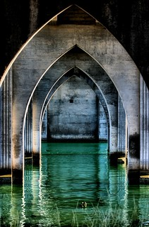 High Tide Under the Bridge
