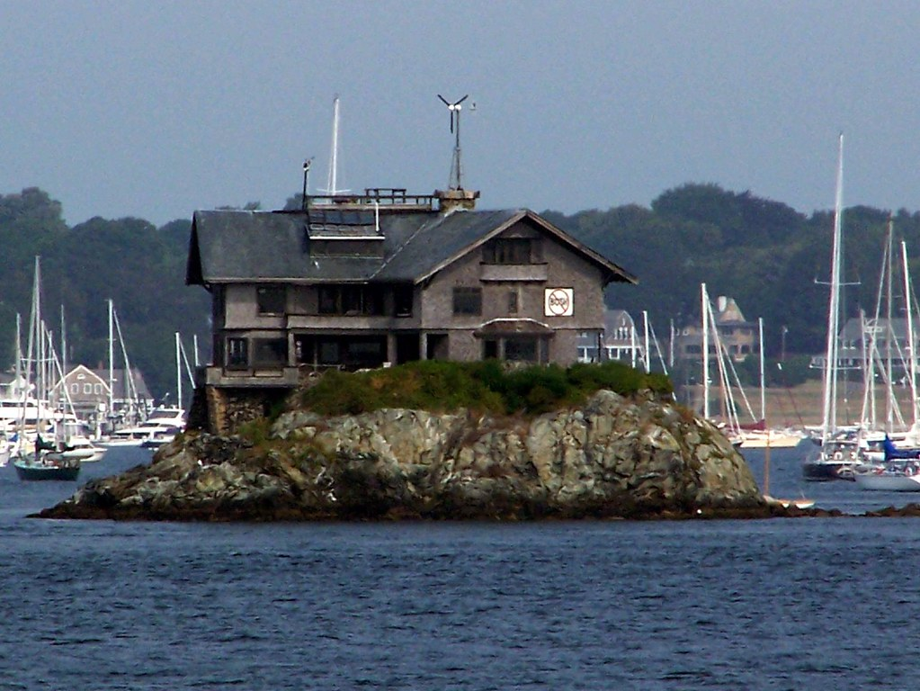 On The Rocks Stands Atop Dumplings Island In Narragansett Bay RI