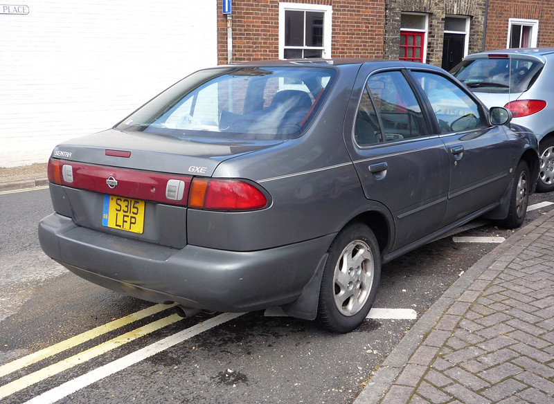 1999 Nissan Sentra 16GXE