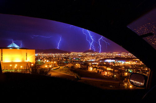 lighting chihuahua storm ford night mexico long exposure purple ka