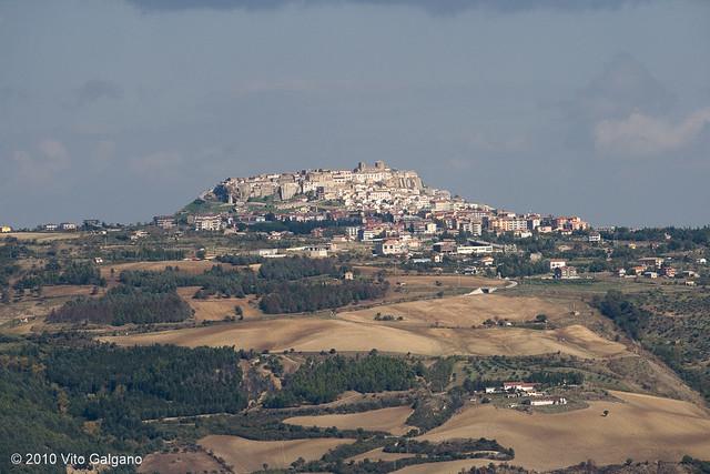 Panorama di Acerenza (PZ)