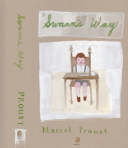 "Jennie Ottinger ""Swann's Way (book cover)"""