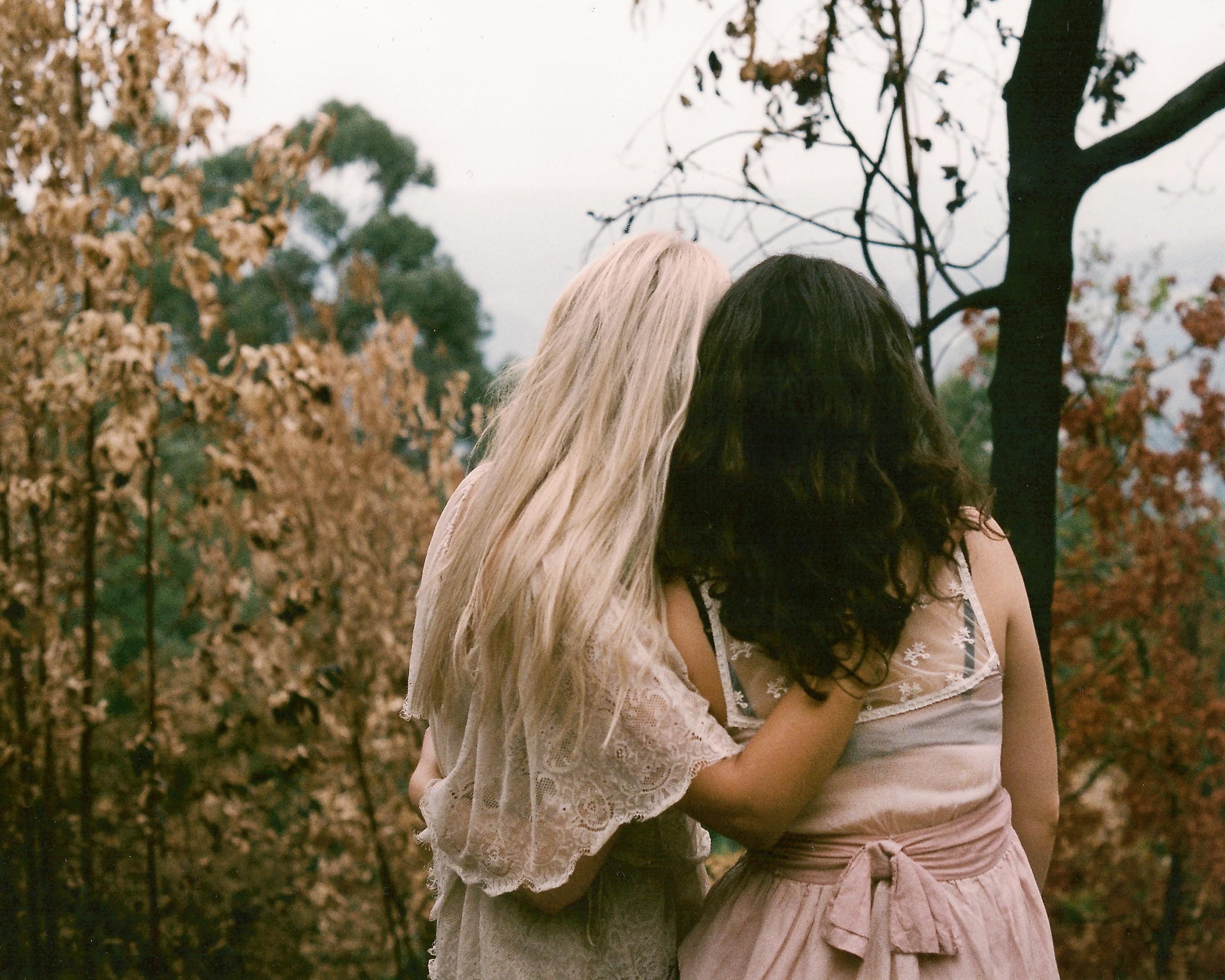 Фото девушек блондинок зимой со спины 26 фотография
