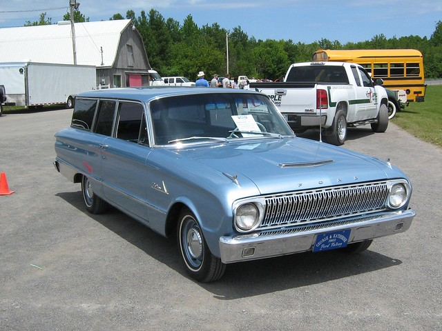 1962 Ford Falcon station wagon | Flickr - Photo Sharing!