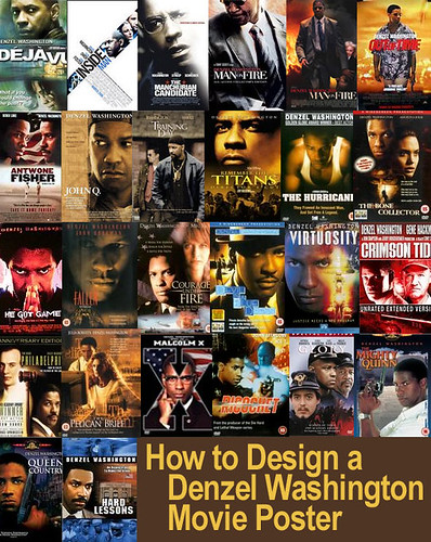 How To Design A Denzel Washington Movie Poster