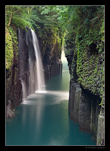 The Waterfall of Takachiho