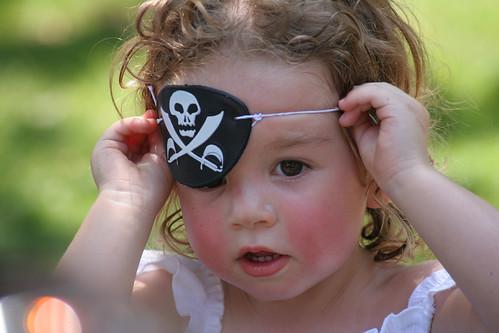 Pirate Riley. Aaarrhh Me Hearties!