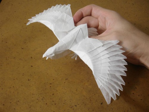 How To Make An Origami Eagle Jet