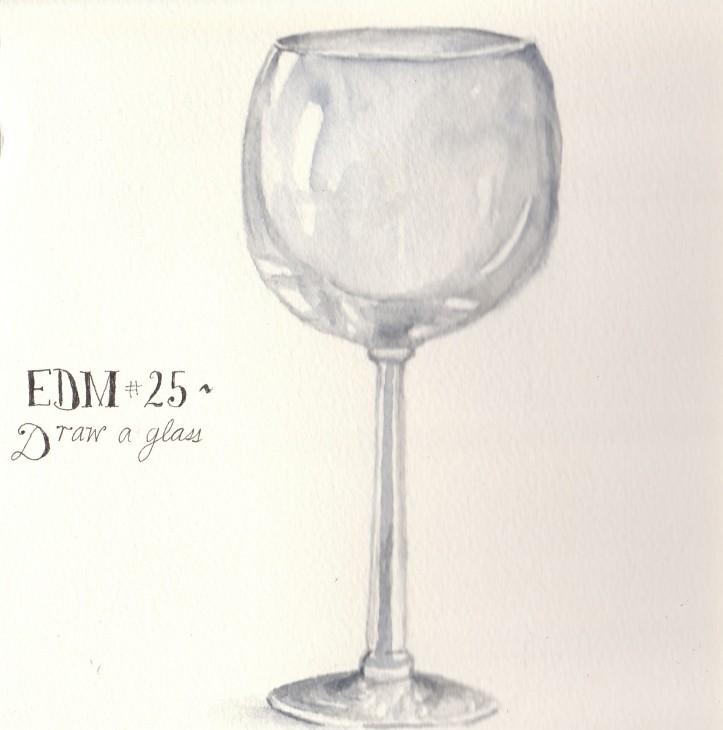 Edm 25 Draw A Glass A Wine Glass Spinneretta Flickr