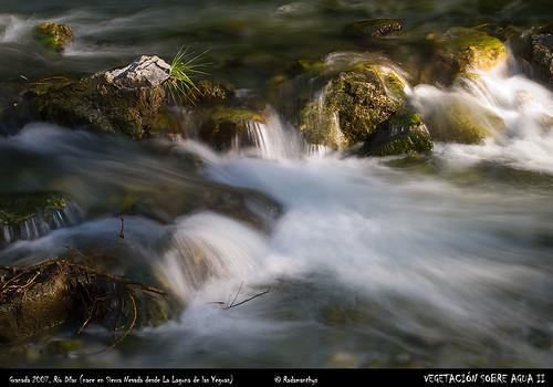 Salto de agua en el río Dílar II / Waterfall in Dilar river II